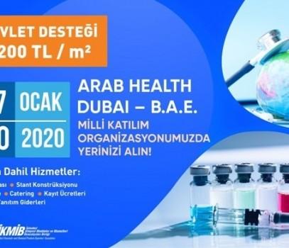 ArabHealth 2020 Fuarı Milli Katılım Organizasyonu