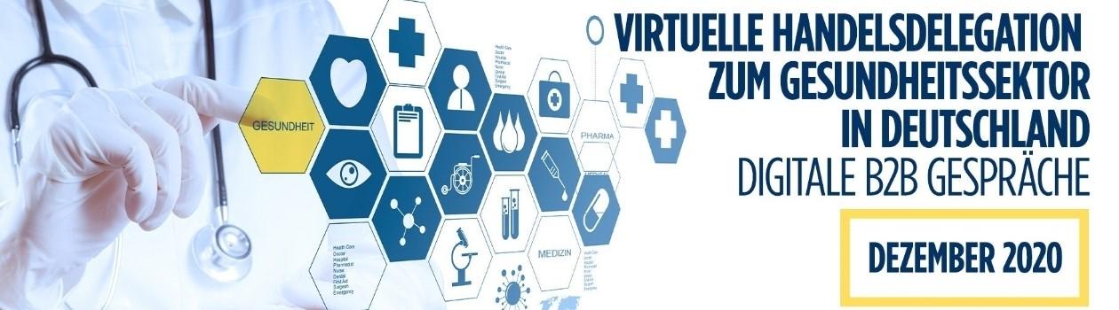 Virtuelle Handelsdelegation zum Gesundheitssektor in Deutschland