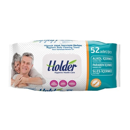 Holder Hygenic Body Cleaning Towel