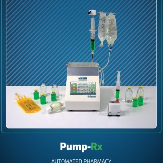 Pump-Rx Automated Pharmacy Fluid Dispensing Pump