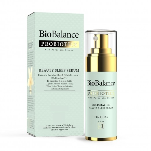 BIOBALANCE PROBIOTICS SKIN CARE WITH PORCLAIN FLOWER