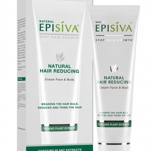 EPISIVA NATURAL HAIR REDUCING CREAM FOR FACE AND BODY