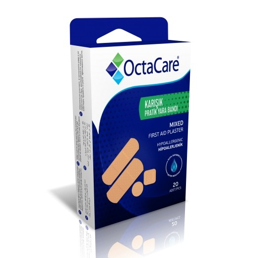 OCTACARE MIXED FIRST AID PLASTER