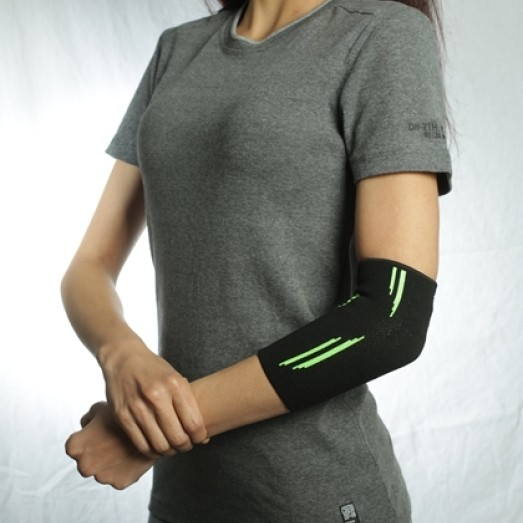 R-11E Knitted Elastic Elbow Support Phospor Color