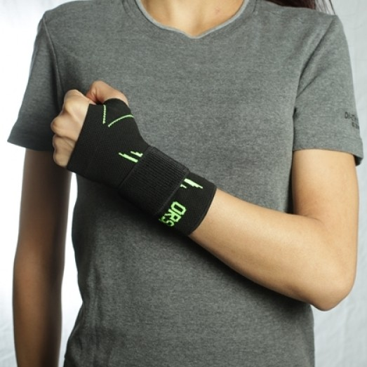 R-12P Knitted Wrist Support Phospor with Velcro
