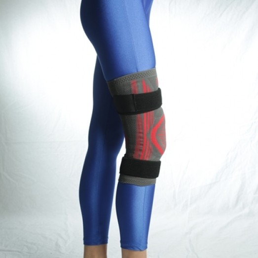 R-4E Knitted Knee Orthosis with Patella and Bandage Support