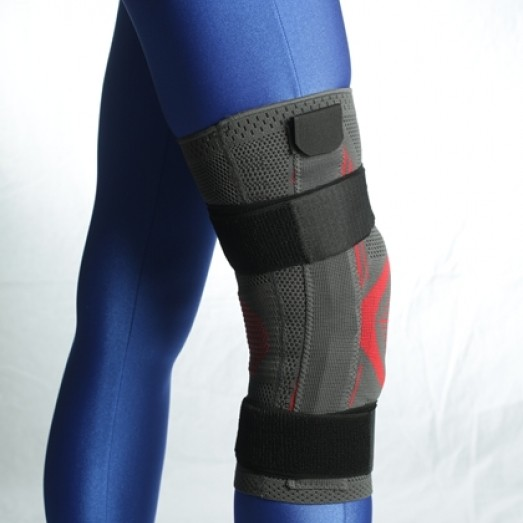 R-4EM Knitted Knee Orthosis with Bandage and Hinge