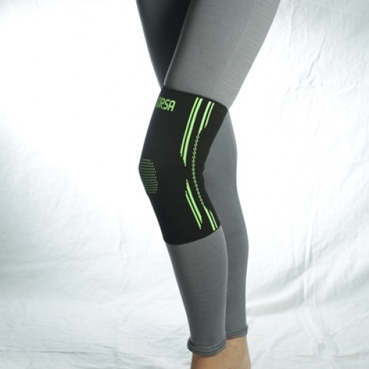 R-9E Knitted Elastic Knee Support Phosphor Color