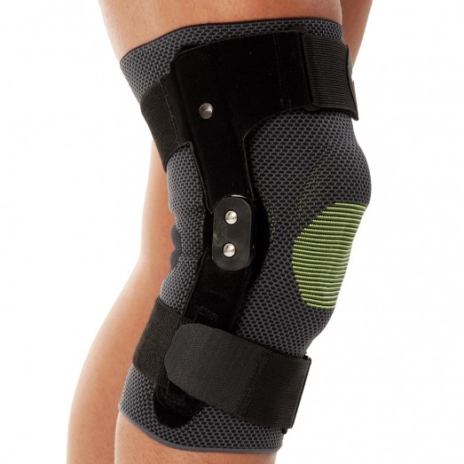 REF 454 Knitted Hinged Knee Support