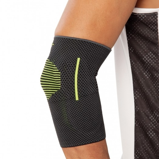 REF 458 Knitted Elbow Support (With Silicone)